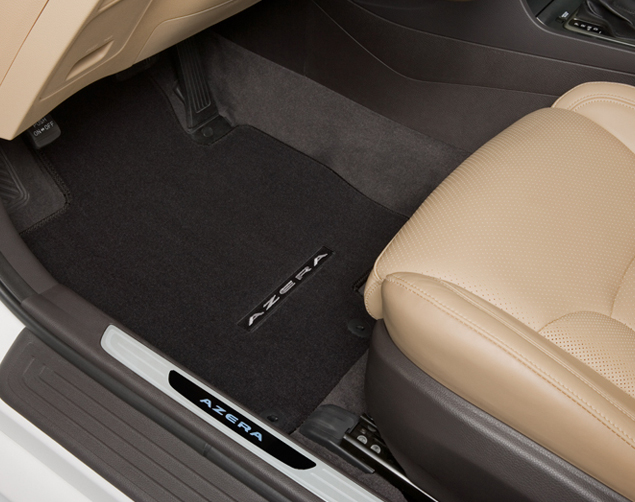 Carpeted Floor Mats - Brown