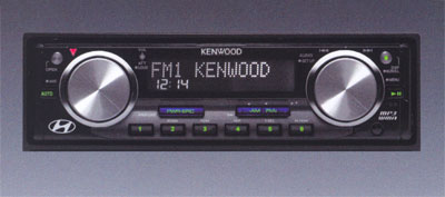 Kenwood AM/FM/XM/MP3/CD Player