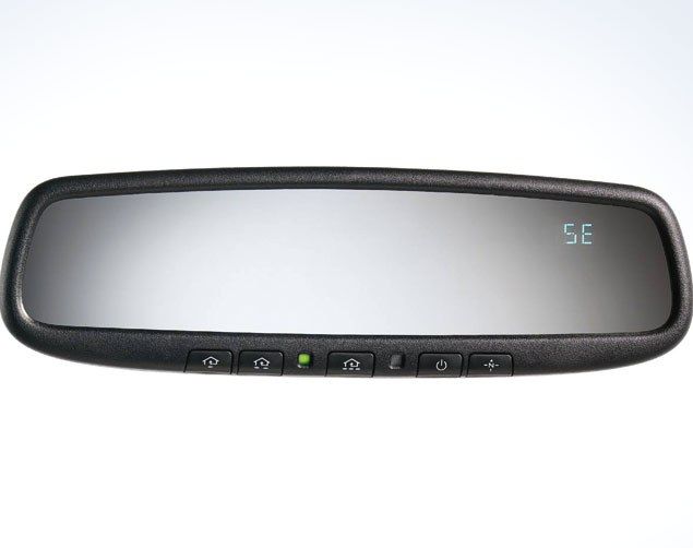 Auto Dimming Mirror (with Compass & HomeLink)