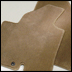 Carpeted Floor Mats (Brown)