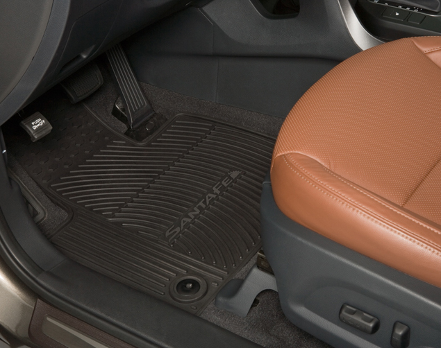 All Weather Floor Mats - 3rd Row