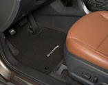 Carpeted Floor Mats - Chocolate Black