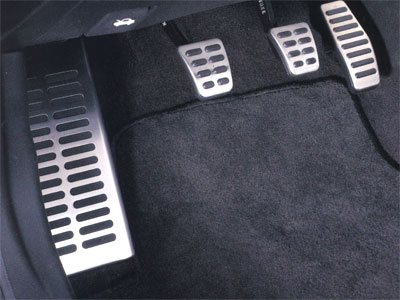 Metal Foot Pads - Foot Rest
