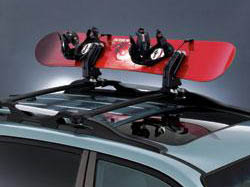 Roof Rack Snowboard Carrier
