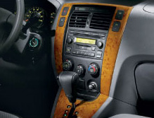 Center Facia - Wood Grain (Manual Transmission)