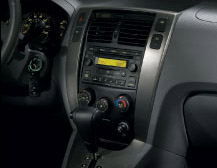 Center Facia - Metal Grain (Automatic Transmission)