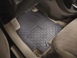 All Weather Floor Mats - Rear Set