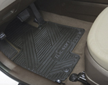 All Weather Floor Mats - Front and Rear Set